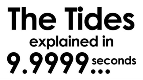 Earth's tides, explained in 9.999 seconds | Strange days indeed... | Scoop.it