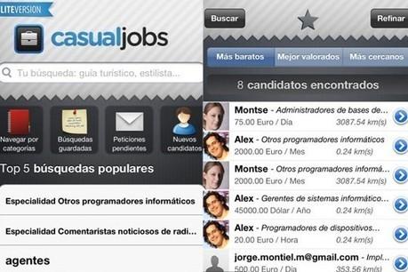 Aplicación para buscar y ofrecer trabajo a través del teléfono móvil.   Cosas que interesan...a cualquier edad.   Scoop.it