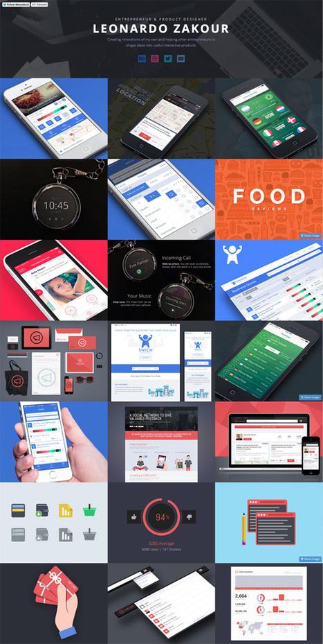 Flat Websites Design – 27 New Examples | Web Design | Graphic Design Junction | Online World | Scoop.it