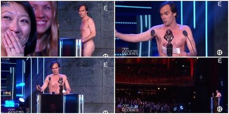 Une ministre interpellée par un comédien nu aux Molières | ACTUALITÉ | Scoop.it