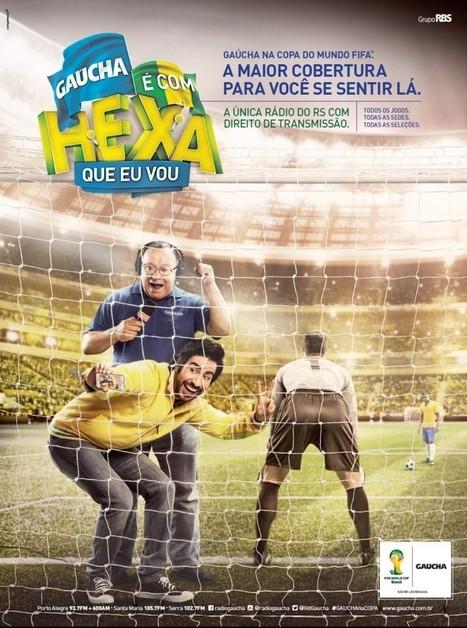 """Competence cria """"É com Hexa que eu vou"""" para Rádio Gaúcha - PROPAGANDA!   Raffael Tronquini - publicitário   Scoop.it"""