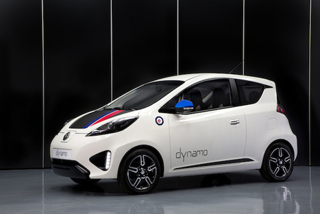 MG's Dynamo concept is its first fully electric car | Heron | Scoop.it