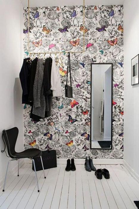 Du papier peint pour embellir votre entrée – Cocon de décoration: le blog | Lifestyle | Scoop.it