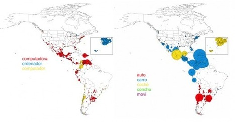 Computational Linguistics of Twitter Reveals the Existence of Global Superdialects | MIT Technology Review | Complexity in Education | Scoop.it