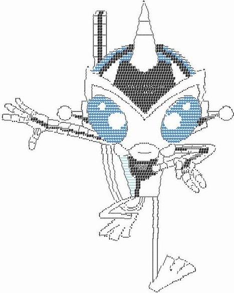 ASCII Antauri by MikhailoMMX on DeviantArt | ASCII Art | Scoop.it