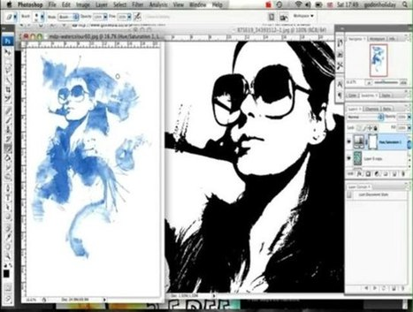 How to Create a watercolor ink blot effect in Photoshop | Photoshop & Inspiration | Scoop.it