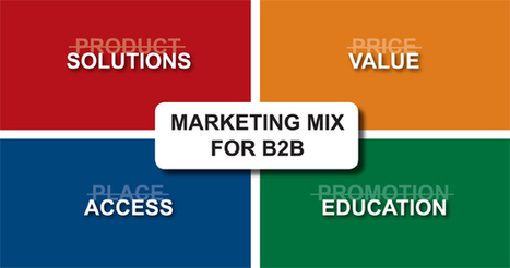 The 4 P's of Marketing No Longer Apply in B2B Today | Branding Business with RiechesBaird | Digital marketing-the essentials | Scoop.it