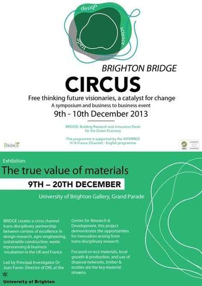 Brighton Bridge Circus | Research Exhibitions and Events | University of Brighton - Faculty of Arts | BRIDGE project | Scoop.it