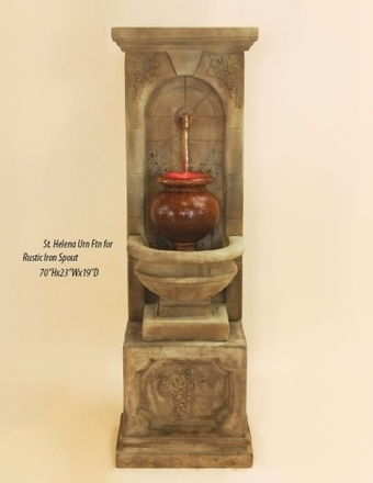 Exalted Fountains | St. Helena Urn Fountain | Garden Fountains Are Wonderful | Scoop.it