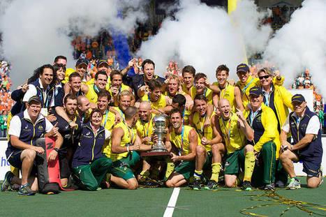MEN Final: Australia men stun Netherlands to win Rabobank Hockey World Cup | Hockey World Cup 2014 | Scoop.it
