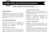 Règles supplémentaires pour l'Anneau Noir | Imaginaire et jeux de rôle : news | Scoop.it