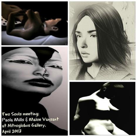 Two Souls Meeting; April exhibition at Nitroglobus Gallery | Nitroglobus Gallery | Scoop.it