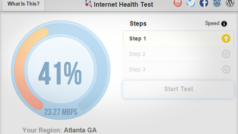 Internet Health Test Checks to See if Your ISP Slows Your Connection | Websites I Found So You Don't Need To | Scoop.it
