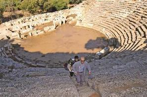 Imperial Temple in Stratonikeia ancient city being restored - Hurriyet Daily News | Ancient History | Scoop.it