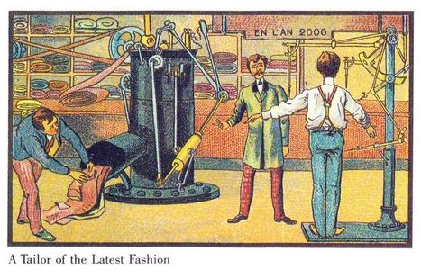 Here's How Artists in the Late 1800s Imagined Life in the Year 2000 | Histoire, Géographie, EMC | Scoop.it