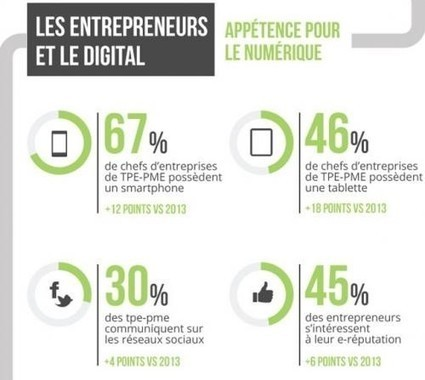 Les TPE - PME et le digital : état des lieux en 2015 | Marketing+Services Kitchen | Scoop.it