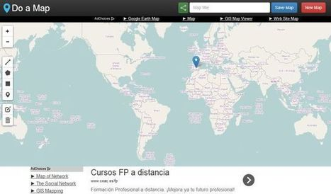 Do a Map: crea mapas, basados en Google Maps, de forma simple | E-Learning, M-Learning | Scoop.it