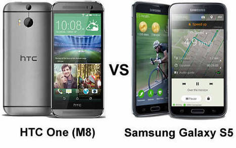 HTC One M8 vs Samsung Galaxy S5. Which one is really worth your money? | Science and Technology | Scoop.it