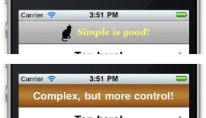 Custom UINavigationBar: Two Techniques | iPhone & iPad Development Tips | Scoop.it