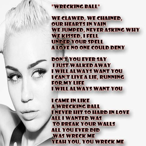 """GetATMe- Miley Cyrus """"Wrecking Ball"""" 