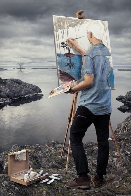 Photo Art by Erik Johansson | Photography Blog | Scoop.it