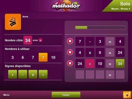 L'appli Mathador : Trois jeux pour devenir accro au calcul mental | Le mot des libraires de l'éducation - Canopé académie de Besançon | Scoop.it