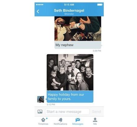 Ya es posible enviar imágenes en los DMs de Twitter | Tic, Tac... y un poquito más | Scoop.it