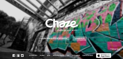 Chaze, un réseau social de challenges en photos | Social Media Curation par Mon Habitat Web | Scoop.it