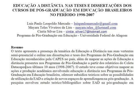 Educação a Distância nas Teses e Dissertações dos Cursos de Pós-Graduação em Educação Brasileiros no Período 1998-2007   Communities of Practice (CoP)   Scoop.it