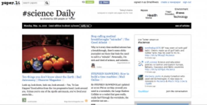 NetPublic » Paper.li, créez votre journal quotidien en ligne à partir d'un compte Twitter | TIC et TICE mais... en français | Scoop.it