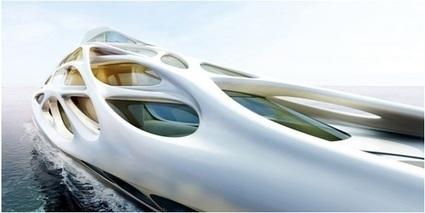 Zaha Hadid's 128 Meter Super Yacht Design Unveiled   300 Magazines   Scoop.it