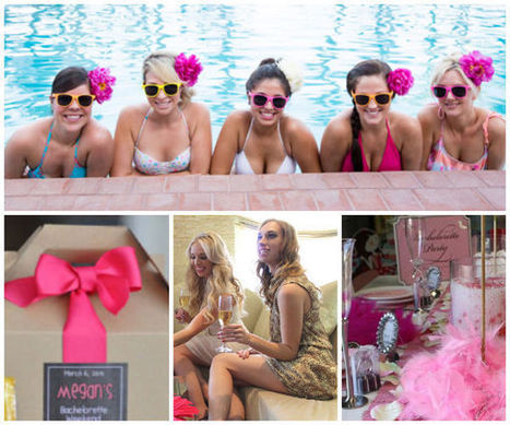5 Super Fun Summer Bachelorette Party Ideas | Wedding Inspiration and Planning | Scoop.it