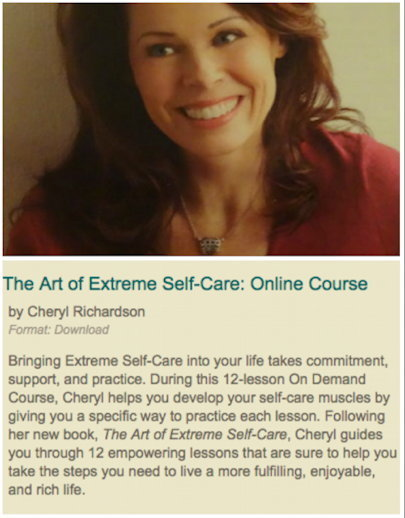 The Art of Extreme Self-Care course | wellbeing | Scoop.it