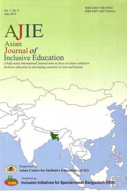 Asian Journal of Inclusive Education (AJIE) | Inclusive Education | Scoop.it