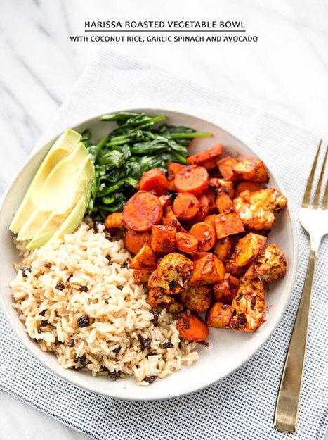 1478 - HARISSA ROASTED VEGETABLE BOWL | CLEAN EATING ... | Paleo Diet | Scoop.it