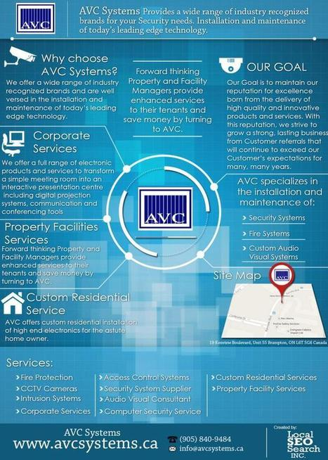 AVC Systems – More Than 20yrs in Business Security Systems Serving Toronto and GTA Area | AVC systems | Scoop.it