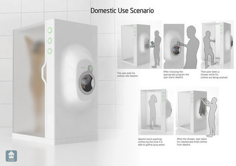 A Device That Recycles Shower Water To Wash Clothes | This Gives Me Hope | Scoop.it