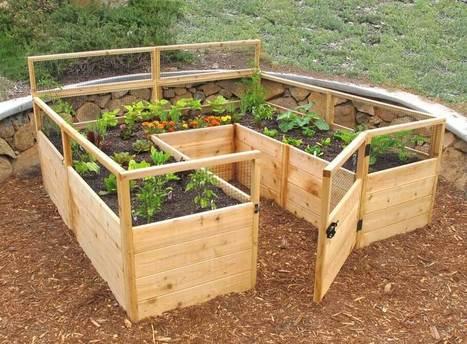 10 Unique and Cool Raised Garden Bed Ideas | Amazing interior design | Scoop.it