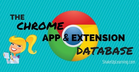 Chrome App and Extension Database | Shake Up Learning | Internet Tools for Language Learning | Scoop.it