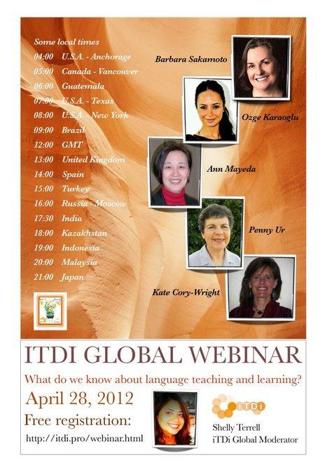 iTDi : Global Webinar 2 | The Durham English Language Teacher | Scoop.it