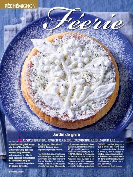 Gâteau de Noël - Féérie en blanc | | Vivlajeunesse | Scoop.it