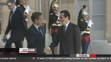 [Eng] Kan discute de la sûreté nucléaire avec Sarkozy | NHK WORLD English (+vidéo) | Japon : séisme, tsunami & conséquences | Scoop.it