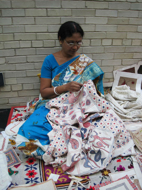 Kantha – A West Bengal Embroidery Art Form | India Travel Blog – The Other Home | Discover Real India | Scoop.it