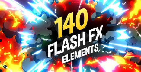 140 Flash FX Elements | Flash Developer Diary | Scoop.it