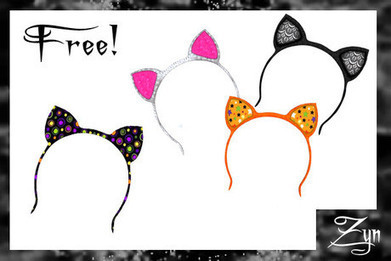 Zyn ~ Kitty Headbands Pack ~ | Blog | Scoop.it