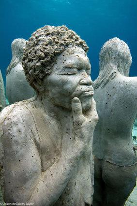 Jason de Caires Taylor et ses sculptures sous-marines - Le blog de saintjoarts.over-blog.com | Stratégies de communication | Scoop.it