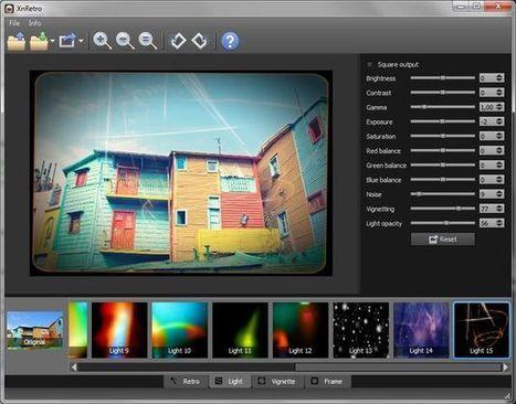 XnRetro, excelente software para aplicar efectos vintage a tus fotos | El Content Curator Semanal | Scoop.it