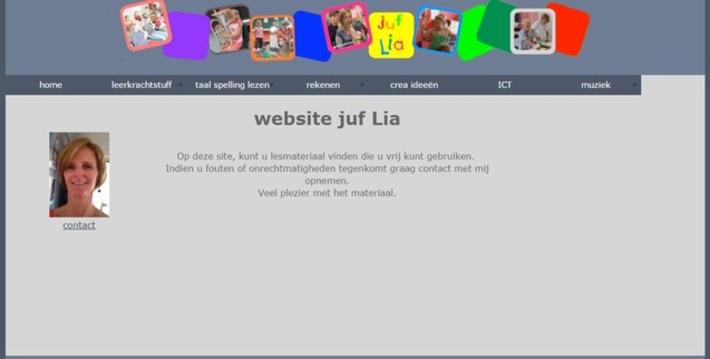 Edu-Curator: De Website juf Lia staat vol met gratis te downloaden werk- en oefenbladen | Educatief Internet - Gespot op 't Web | Scoop.it