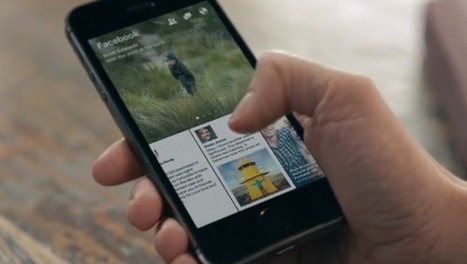 Facebook Unveils Paper, Its News Reader And Flipboard Rival   Digital   Scoop.it