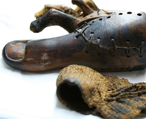 Ancient Egyptian Fake Toes Earliest Prosthetics : Discovery News | The History of Art | Scoop.it